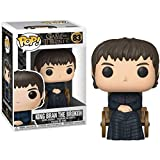 Gogowin Pop Television : Game of Thrones - King BRAN The Broken 3.75inch Vinyl Gift for Fantasy Fans...