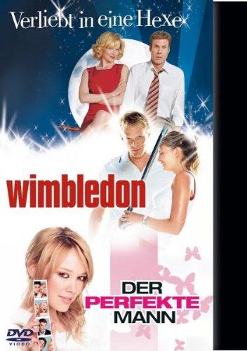 Verliebt in eine Hexe / Wimbledon / Der perfekte Mann [3 DVDs]