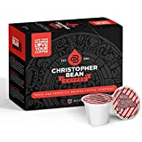 White Chocolate Peppermint Bark Single Coffee Cup, (Decaf) 100% Recyclable Single Serve Flavored K-Cup, 100% Arabica, No Sugar, No Fats, Non-GMO, 18 Cups of Decaf Coffee Per Box – Christopher Bean