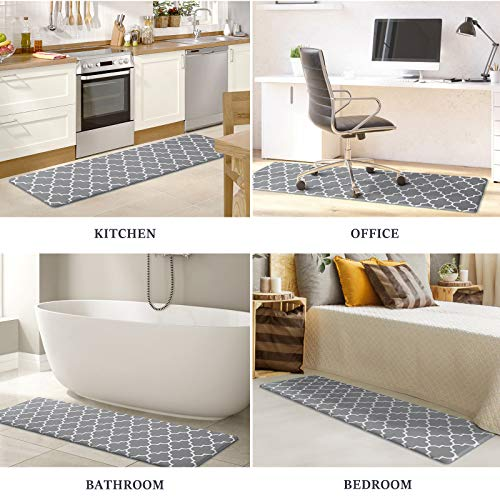 WiseLife Kitchen Mat Cushioned Anti-Fatigue Kitchen Rug, 17.3