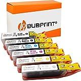 6 Bubprint Druckerpatronen kompatibel für Canon PGI-550 CLI-551 XL für Pixma IP7220 IP7240 IP8700 IP8720 IP8750 MG6300 MG6350 MG6420 MG7100 MG7120 MG7150 MG7500 MG7550 Multipack