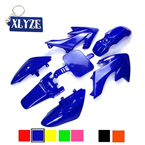 Xlyze Kit de carénages en plastique bleu