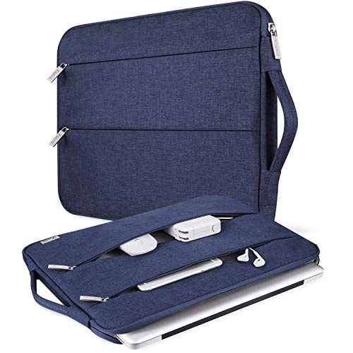 V Voova Laptop Sleeve 13 13.3 Inch Waterproof Computer Carrying Case Compatible with Handle Compatible with Chromebook MacBook Air/13.3
