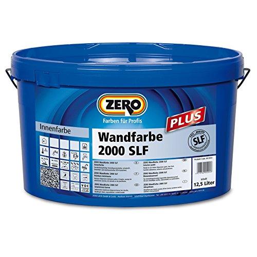 ZERO Wandfarbe 2000 SLF Plus altweiß 12,5 L