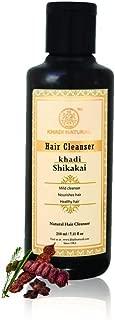 Khadi Natural Herbal Shikakai Cleanser (Shampoo), 210ml