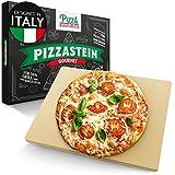 Pizza Divertimento pietra refrattaria per pizza da forno - Cuoci pizza in pietra di cordierite - Pietra Pizza croccante & succosa