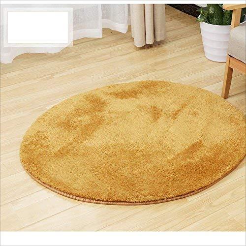 YOCASA Matratze Computer Stuhl Matratze Fußmatte Tür Eintrag Fuß Pad Runde Handgemachte Teppich Kind Studie Schlafzimmer