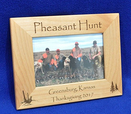 Pheasant Hunt Picture Frame