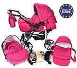 Sportive X2 - Landau pour bébé + Siège Auto - Poussette - Système 3en1 +...