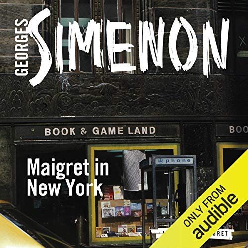 Couverture de Maigret in New York