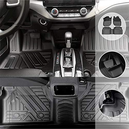 Alfombrilla de Goma para Coches Son aptas para Audi Q3 2019-2020 5-Seat...