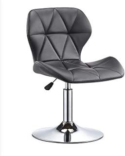 NMDB DLDL Bar siege Ascenseur Tabouret Mode swingable Simple Chaise Bureau Domicile Mobile  Couleur Noir  Taille