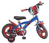 TOIMS Pik&Roll Spiderman Kinderfahrrad 12' Vélo pour Enfant. Fille, Bleu, 14