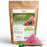 [page_title]-Vit4ever® Acerola Pulver - 300 g - Natürliches Vitamin C - 200 Tagesportionen mit 1500 mg Extrakt aus der Acerolakirsche (6,6 Monate Vorrat) - Laborgeprüfte Reinheit & Qualität - Vegan