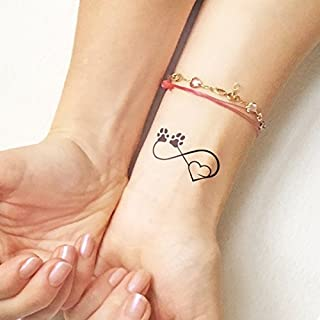 Pet Love - Tatuaggio temporaneo (Set di 2)