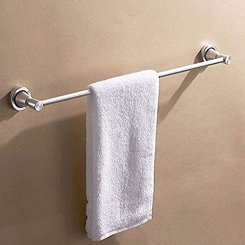 HYY-YY Aan de muur bevestigde rail badkamer rack badkamer rack Rekken hanger enkel rack aluminiumlegering badkamer plank geboorde opzettende 60cm