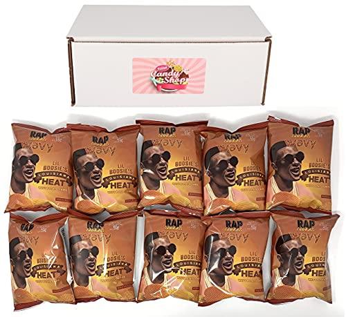 Rap Snacks 1 oz Potato Chip Bags (10 Pack) (Lil Boosie Louisiana Heat)
