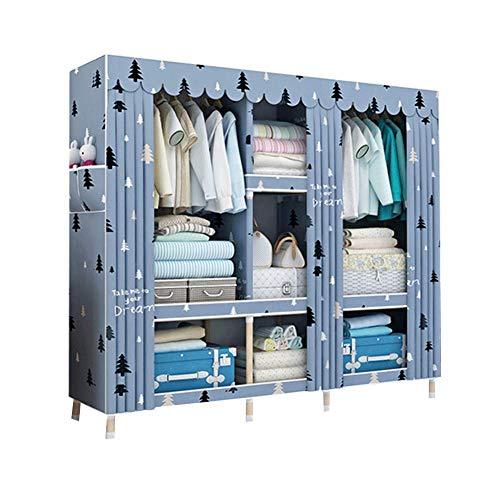 HPYR Armario de almacenamiento modular para dormitorio de gran capacidad, de madera maciza, peso pesado, 2 unidades