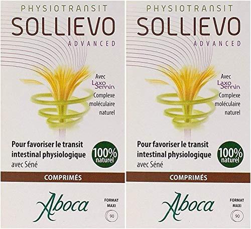 Aboca Sollievo Advanced 90 Tavolette per la Funzionalità Intestinale Confezione Doppia