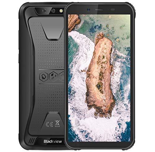 Blackview BV5500 Smartphone robusto Android 8.1 3G, IP68 impermeabile antiurto antipolvere, 1,3 GHz 2 GB + 16 GB, 5,5 HD + Schermo, 5MP + 8MP doppia fotocamera, 4400 mAh GPS - Nero