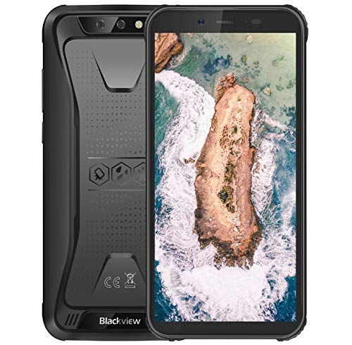 petit un compact Blackview BV5500 Téléphone IP68 antichoc, Smartphone Android 8.1, 1,3 GHz, 2 Go + 16 Go,…