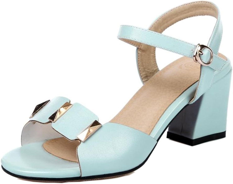 CarziCuzin Women Fashion Heel Sandals Slingback