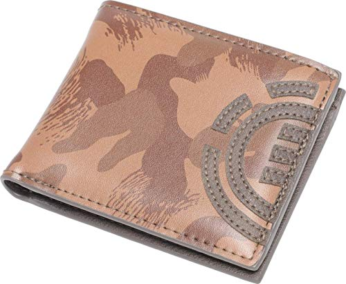 Element - Cartera para hombre (camuflaje), color marrón marrón/camuflaje talla única