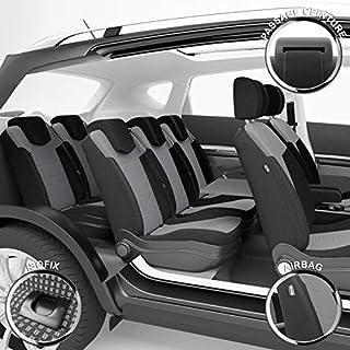 DBS Fundas de Asientos de Coche Isofix Compatible Airbag Acabado de Coche de Alta Gama Instalaci/ón r/ápida 1011072 A Medida