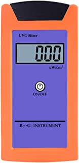 RCYAGO RGM-UVC Reptile UV Radiation Meter 1uw/cm2 High Precision UV Illuminance Meter UVC Luminosity Measurement Tool with...