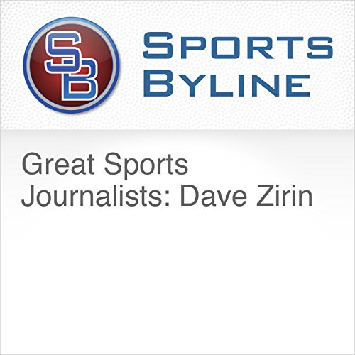 Great Sports Journalists: Dave Zirin audiobook cover art