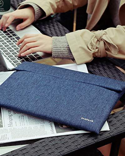 """Inateckラップトップスリーブケース(13""""MacBookAir2020-2018、13""""MacBookPro2020-2016、SurfaceProX/7/6/5/4/3、12.9""""iPadPro、XPS13専用)PCインナーバッグ"""
