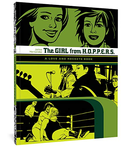The Girl from HOPPERS (Love & Rockets)