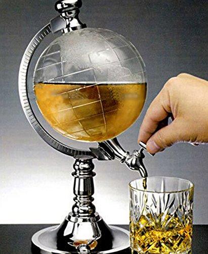 Globe wijn gieters barware mini bier gieter water vloeibare drank dispenser wijn pomp dispenser machine
