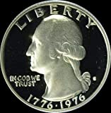 Great coin, hand-picked for quality and eye appeal. Bright white with mirror-like finish. Struck in silver. Dual dated coin -- 1st in US Mint's history. Coin dated 1776-1976. One year only design on obverse with Drummer boy design. No other Mint prod...