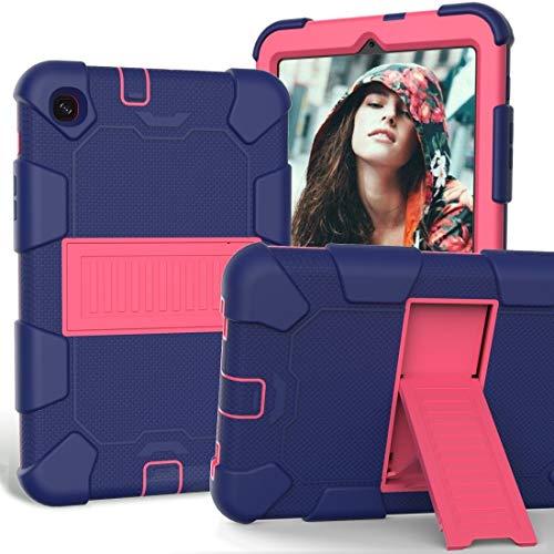 BEIJING  PROTECTIVECOVER+ / for Compatible with Samsung Galaxy Tab A 8.4 (2020) Funda de protección de Silicona a Prueba de Golpes a Prueba de Golpes con Titular, Fashion Phone Funda para Protector