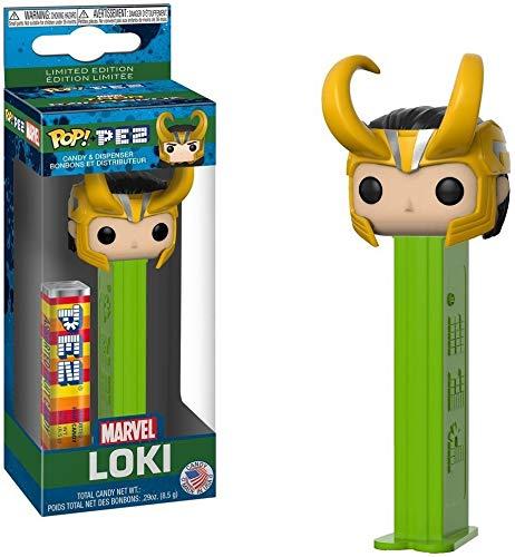 Funko Pop! Pez: Marvel - Loki : Toys & Games