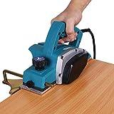 Electric Wood Planer, Portable Handheld Planer 110V 800W 13000-16000RPM Adjustable Cut Depth Woodworking Planer Jointer for Home Furniture