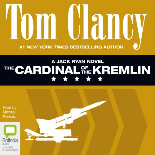 The Cardinal of the Kremlin     Jack Ryan, Book 4              By:                                                                                                                                 Tom Clancy                               Narrated by:                                                                                                                                 Michael Prichard                      Length: 25 hrs and 19 mins     85 ratings     Overall 4.7
