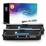 INK E-SALE Compatible Cartouches d'encre Samsung MLT-D111S pour Samsung Xpress M2070, M2070W, M2070W, M2022, M2022W, M2020, M2020W, M2070FW - (Noire, 1,000 Pages, 2 Paquets)