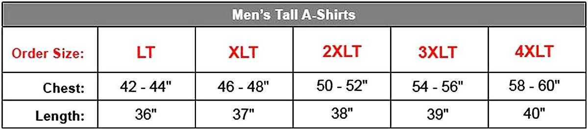 Hanes Men's Tall Tagless ComfortSoft Tank Undershirt