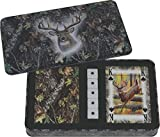 Rivers Edge Products 2-Pack Mossy Oak Cards And Dice Gift Tin