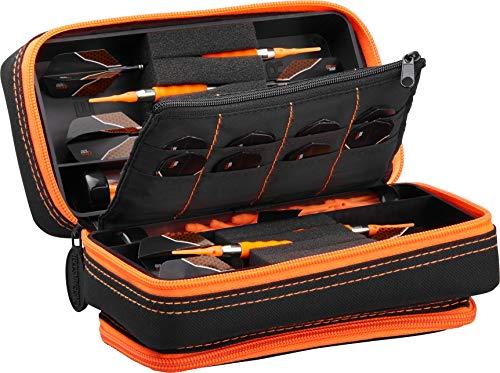 Casemaster Plazma Pro Black and Trimed Dart Case with Phone Pocket
