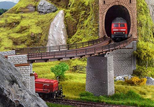 Vollmer 42547 Trogbrücke, gebogen
