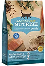 Rachael Ray Nutrish Premium Natural Dry Cat Food, Real Salmon & Brown Rice Recipe, 14 Pounds
