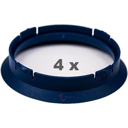 4 X Zentrierringe 63 3 Mm Auf 57 1 Mm Blau Blue Auto
