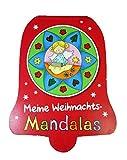 wuselwelt 9070 Meine Weihnachts-Mandalas - Zauberhafte Mandala rund um das Thema Weihnachten Malbuch für Kinder -