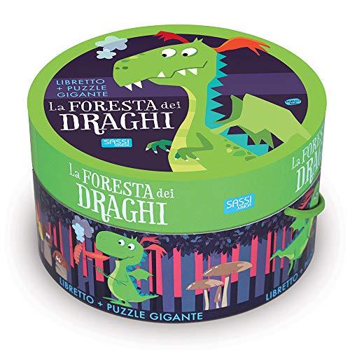La foresta dei draghi. Ediz. illustrata. Con puzzle