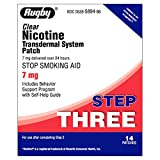 Best Clear Nicotine Patches - Rugby Clear Nicotine Transdermal System 7 mg Review