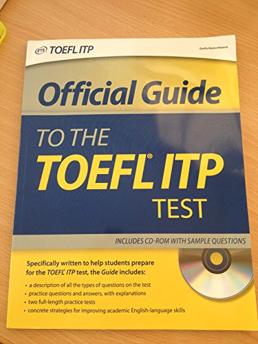 Official Guide to the TOEFL ITP Test : Audio