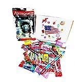 PACK GLACE ASTRONAUTE + ASSORTIMENT BONBONS AMERICAINS snacks import etats unis box pas cher kit melange confiserie friandises americain nerds bonbon